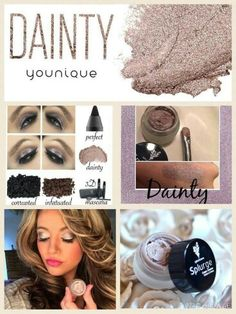Younique splurge Cream Eye Shadow in Dainty Available from www.youniqueproducts.com/kirstyjashforth