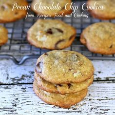Pecan Chocolate Chip Cookies Hi everyone, I'm Mary Ellen and I blog over at Recipes, Food and Cooking. I'm bringing you a recipe for Pecan Chocolate Chip Cookies that I think may just be my new go to chocolate chip cookie recipe. I've made lots of them over the years and have never had a …