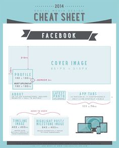 Social Media Cheat Sheet – Facebook 2014