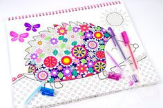 If you haven't tried gel pens with your coloring books, then you are missing out on a very versatile and interesting coloring tool that will set your coloring apart.