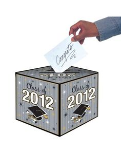 Class of 2012 Graduation Card Holder Box - Party City
