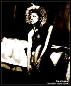 Madonna - fan art (very very very old) :)
