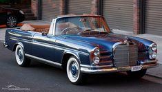1964 MERCEDES 300SE W112 Automatic #mercedesvintagecars