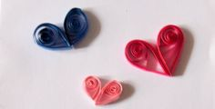 Quilling for Kids - make a paper quilled heart!  Perfect for Valentine's day or any other special day.