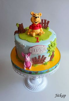 Winnie the Pooh - cake by Jitkap