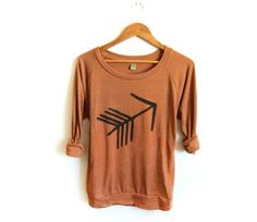 LIMITED STOCK  Tribal Arrow Hand Stenciled by twostringjane