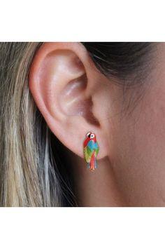Jewelry Design, Pastel, Earrings, Fashion, Colombian Women, Modern Women, Mint, Fashion Trends, Stud Earrings
