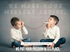 Web Design & Graphic Design  Fazemos a sua mensagem passar. We make your message arrive. #creativexspot #creativewebdesign #weputyourpassioninitsplace