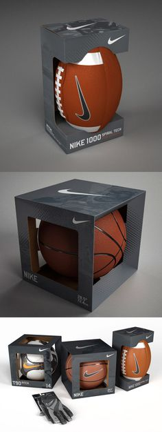 Nike Balls Packaging   Projeto de embalagens Nike para os grandes fãs do esporte!