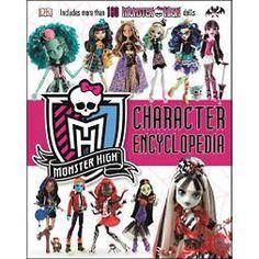 Monster High Character Encyclopedia (Hardcover) (Eric Hardie)