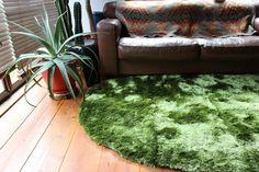 [140×200cm]GRASSラグマット(楕円形):ナチュラル,北欧,グリーン系,Home's Style(ホームズスタイル)のラグ・マットの画像