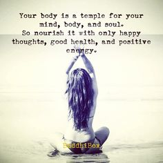 your body is a temple  #buddhibox