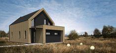C24/004 - Budowa domów szkieletowych kanadyjskich Rzeszów - Daszer #daszer #nowoczesnastodoła #projektdomu #dom #domszkieletowy #houseproject #houseofwood Shed, Outdoor Structures, Backyard Sheds, Coops, Barns, Tool Storage, Barn