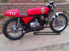 custom aermacchi harley davidson | 1973 Harley Davidson / Aermacchi Custom Sprint Ss Cafe Racer Other ...
