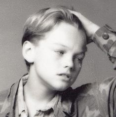 The sensitive guy: | Awesome Photos Of Young Leonardo DiCaprio Showing Off His Emotional Range