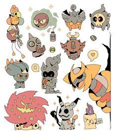 Ghost Pokemon, Play Pokemon, Pokemon Comics, Cute Pokemon, Pokemon Stuff, Pokemon Cards, Ghost Type, Pokemon Tattoo, Pokemon Pictures