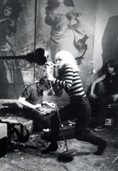 Blondie, CBGB's, 1977