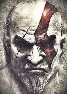 kratos face