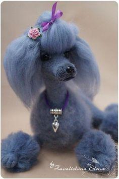 Пудель+Виола.+Голубой+пуделек+Виола+-+это++также+работа-+мемориал.+Эта+собака+уехала+в+Америку+и+будет++всегда+напоминать++своей+хозяйке+о++ее+любимой+Виоле...