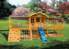 Encourage a healthy lifestyle early on with a cubby house - http://playcubb.com.au/encourage-a-healthy-lifestyle-early-on-with-a-cubby-house/