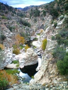 Aztec Falls, CA