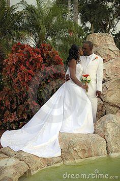 Bride and Groom by Katseyephoto, via Dreamstime