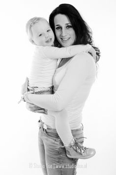 Studio fotoshoot - Familie