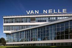 Brinkman en Van der Vlugt, Van Nellefabriek, Rotterdam 1925-1931. Constructie i.s.m. ir. Jan Gerko Wiebenga