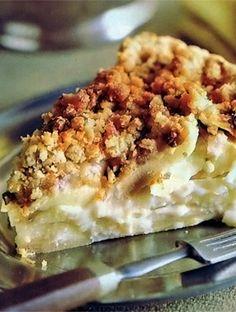 Get the recipe for Dutch Apple Pie
