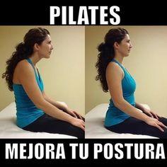 "@inspirahpilates's photo: ""#Pilates mejora tu postura   www.inspirahpilates.com  """