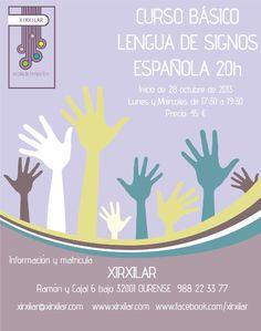 Curso básico Lengua de Signos Española @ Xirxilar - Ourense curso formación pedagogía pedagoxía