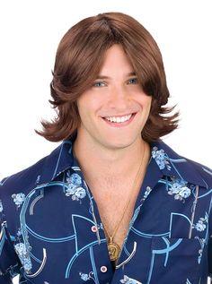 Ladies Man Wig Costume Accessory