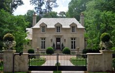 inspiration for exterior colors ... french provincial design / stan dixon