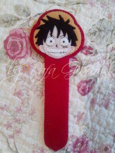 Marca-página do Luffy - One Piece