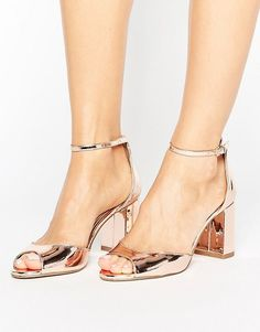 7fa7f05eb166 Discover block heeled sandals at ASOS. From ankle strap