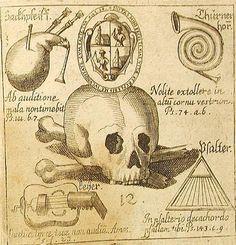 """innercurtain: """" Abraham Megerle - Speculum Muscio-Mortuale - 1672 """""""
