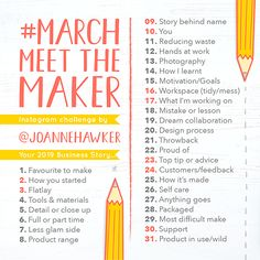 Are you taking part in this years It is so much fun and a great way to meet fellow crafters and make new friends. Have a great day everyone xxx Instagram Challenge, Instagram Feed, Instagram Posts, Motivation Goals, Insta Posts, Make New Friends, Promote Your Business, Design Process, First Photo