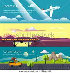 Hasil gambar untuk flat banner travel