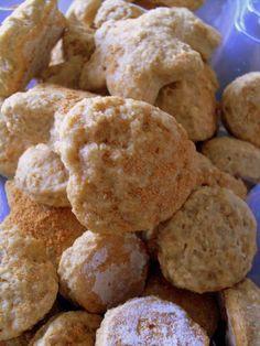 Pitadinha: Biscoito (integral) de canela