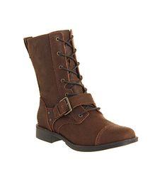 UGG Australia Marela Lace boots Dark Chestnut Leather - Knee Boots