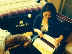 My very first Chanel :) Classic 2.55 Reissue Flapbag in Burgundy patent leather with brilliant gold hardware - See more at: http://www.lesbananas.us/2014/01/my-first-chanel-fallwinter-2014-255.html