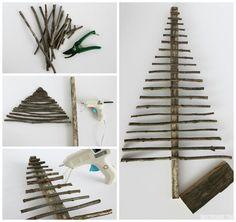 Easy Decorative Twig Christmas Tree – Christmas Decor. November 12, 2014 Christine @ theDIYdreamer