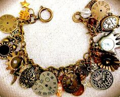 The Hands of Time Vintage Antique Brass Assorted by CslayerD, $15.99