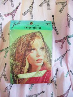 NOS Vintage 60s 70s Jodi Chantilly Lace by atomicbettiescloset