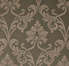 Miss Passion Grey Wallpaper by Walls Republic