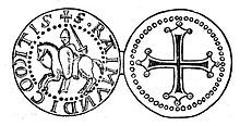 Raymond IV, Count of Toulouse -Sketch of Raymond's seal  Raymond was deeply religious, and wished to die in the Holy Land, and so when the call was raised for the First Crusade, he was one of the first to take the cross.