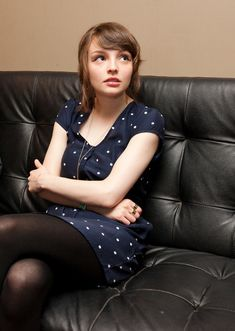 This is Lauren Mayberry. She's the lead singer, and also plays some synthesizer. | 26 Things You Should Know About Chvrches, Your New Favorite Electro-Pop Band