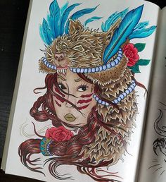 38 best Megamunden ,The Tattoo Coloring Book images on Pinterest ...
