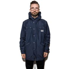 The Hive NAVY PARKA JACKET