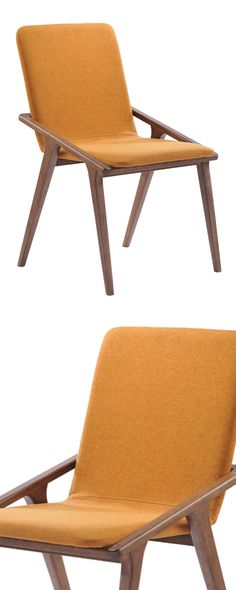 Update your dining room with a splash of citrus. Our Clementine Chairs are crafted with a walnut-stained rubberwood frame and…